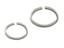 Open Oval Jump Rings